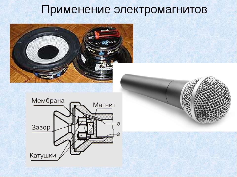 Применение электромагнитов