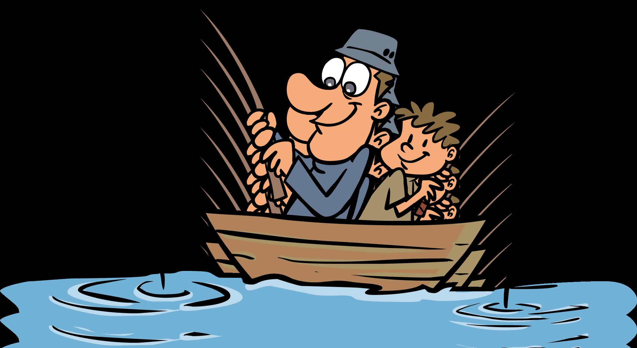 Рыболов рисунок для детей