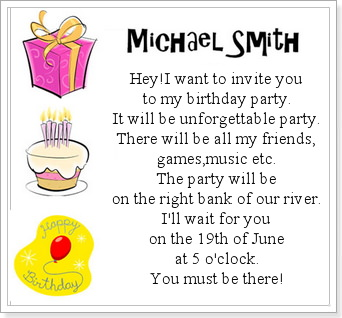 Поздравительная открытка по английскому на день рождения с переводом