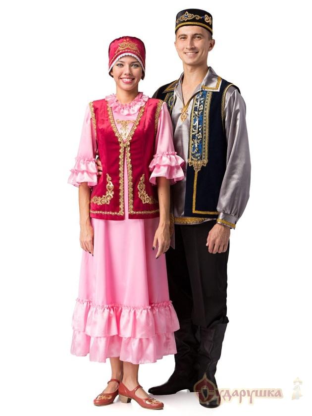 тебя татары национальный костюм фото мужской и женский мне