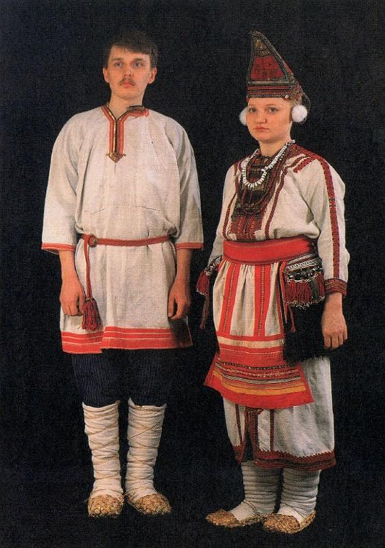 Костюм мордовский картинки