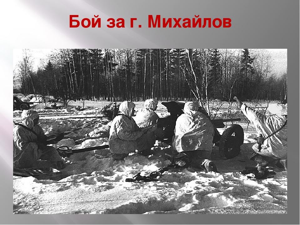 Бой за г. Михайлов