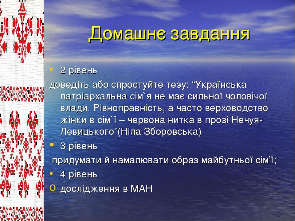 """Домашнє завдання 2 рівень доведіть або спростуйте тезу: """"Українська патріарха..."""