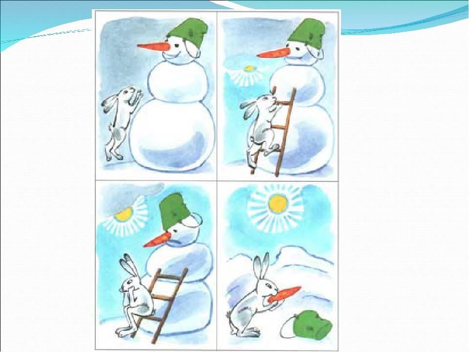 некоторым обитательницам занятие по серии сюжетных картинок снеговик счастье