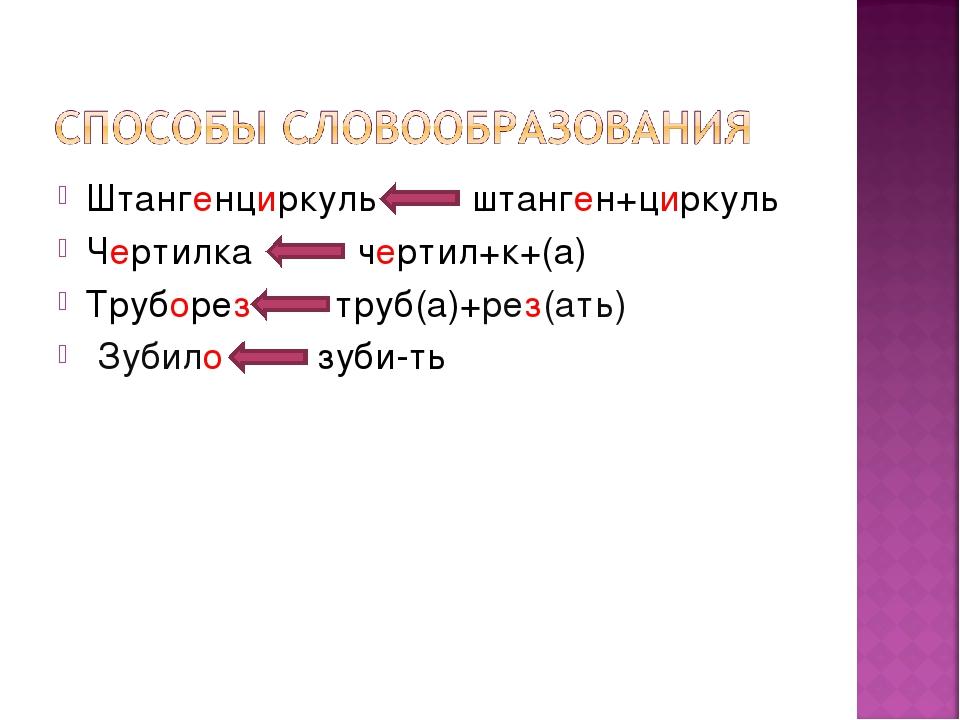 Штангенциркуль штанген+циркуль Чертилка чертил+к+(а) Труборез труб(а)+рез(ать...