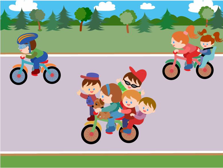 Картинки велосипеда для детей пдд