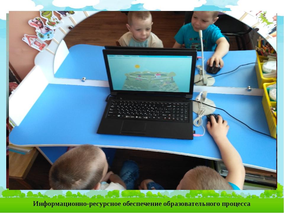 Информационно-ресурсное обеспечение образовательного процесса