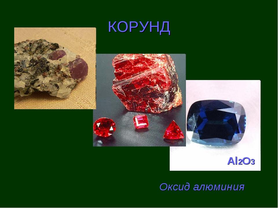 КОРУНД Al2O3 Оксид алюминия