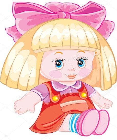 кукла рисунок без фона