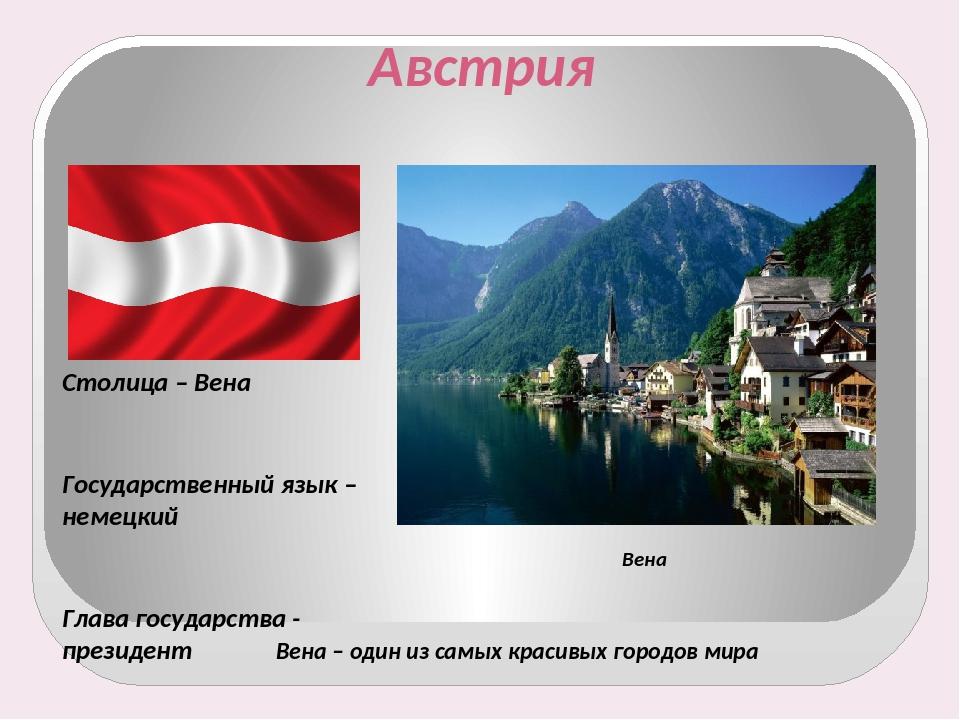 Картинки, картинки австрии для проекта