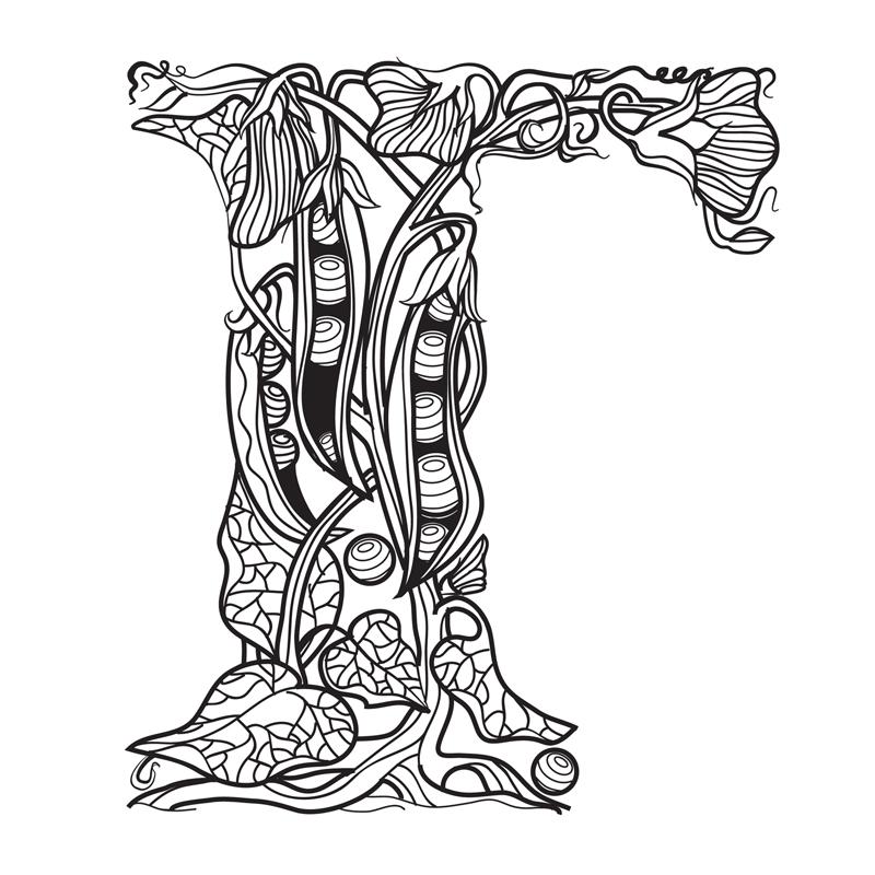 Славянский алфавит картинки для раскрашивания