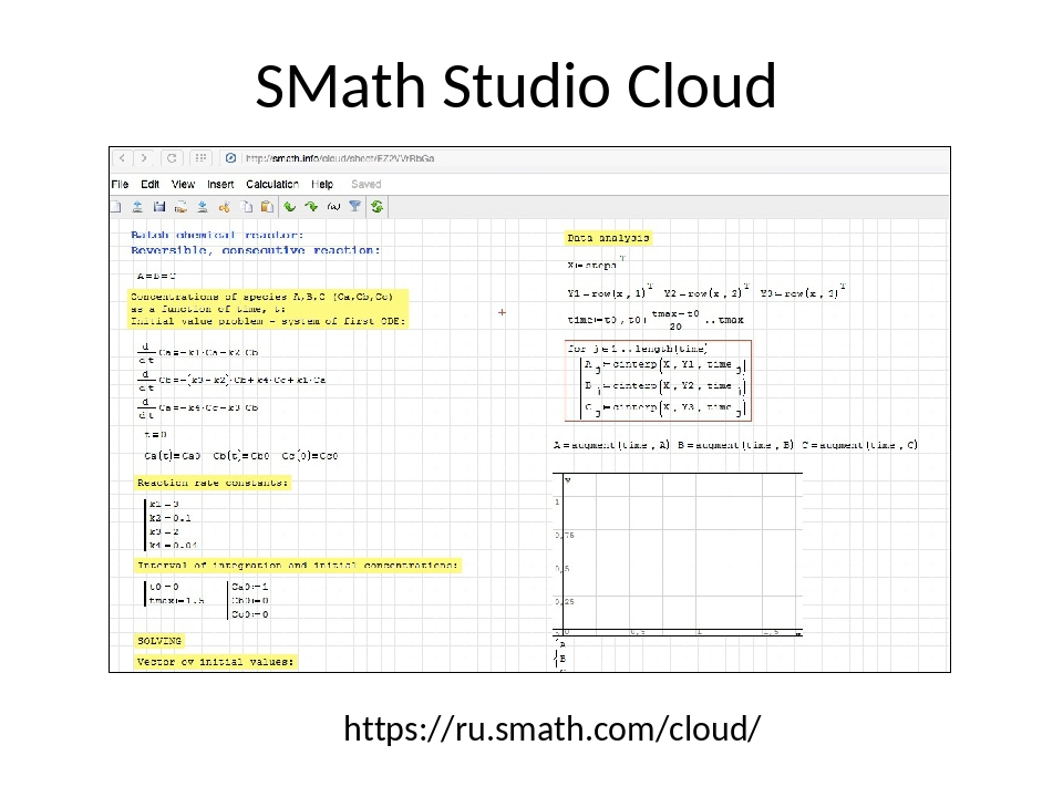 SMath Studio Cloud https://ru.smath.com/cloud/