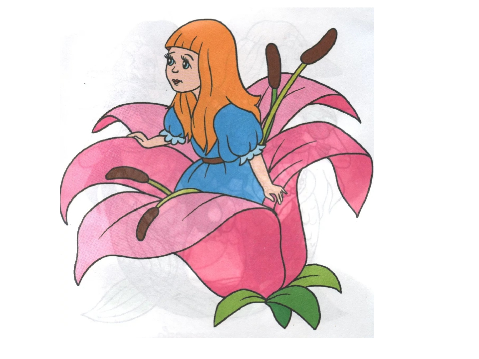 Персонажи дюймовочка из сказки картинки