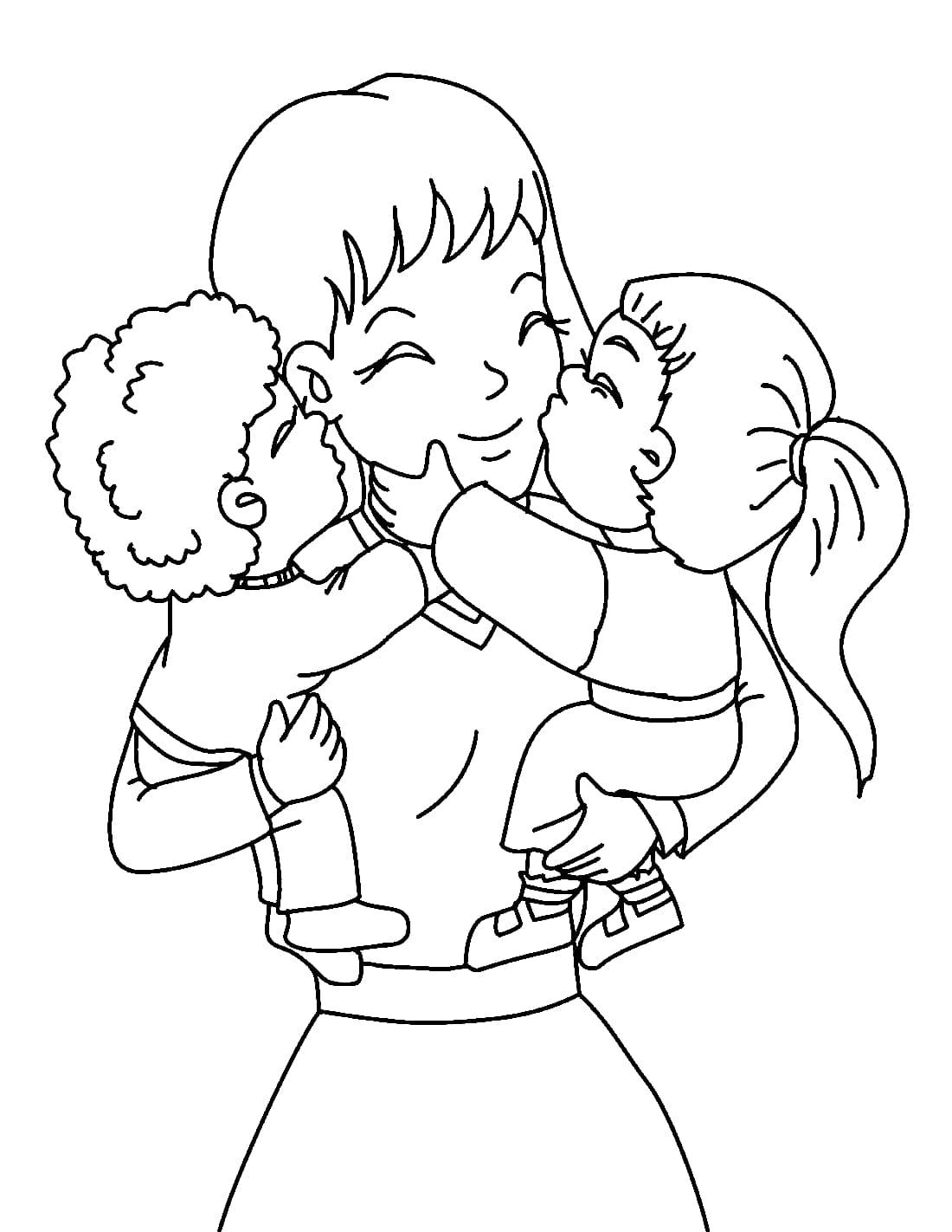 Рисунок для мамы для детей, смешные картинки поэтапно