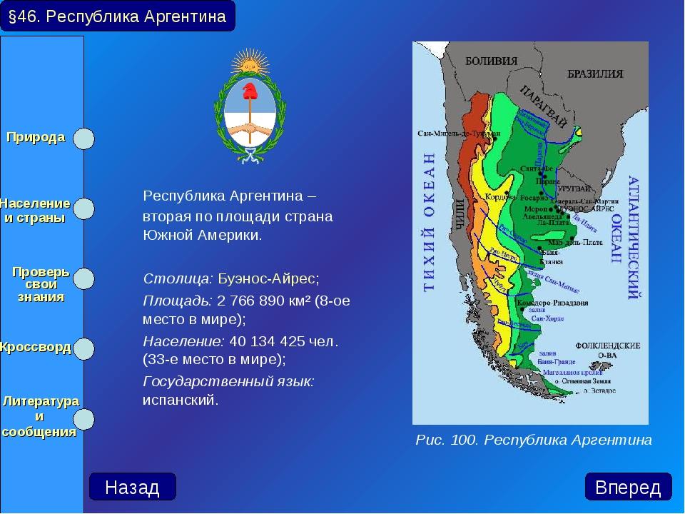Республика Аргентина – вторая по площади страна Южной Америки. Столица: Буэ...