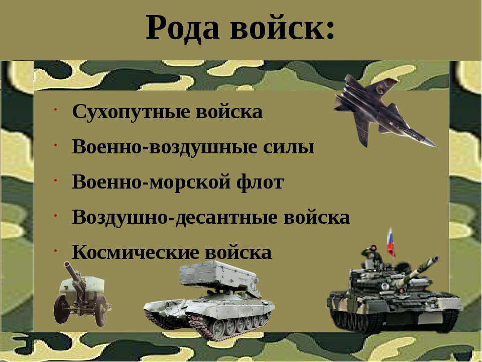Рода войск в россии картинки