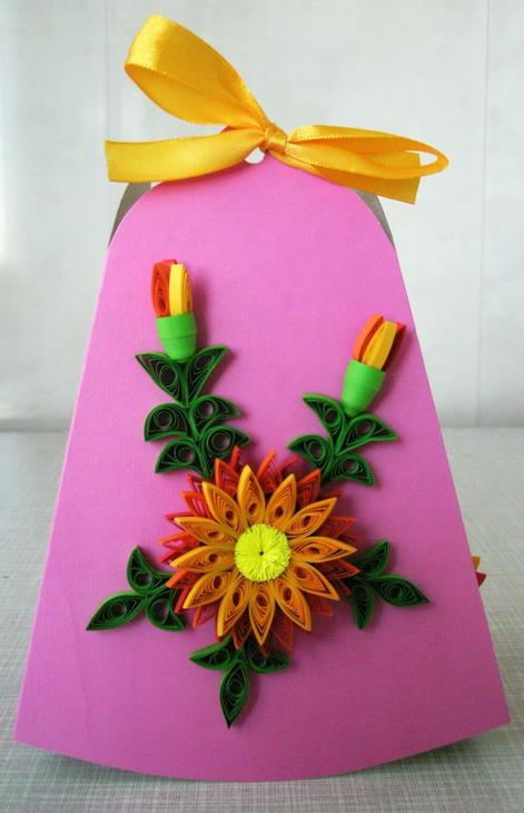 Открытки своими руками на день учителя мастер класс из бумаги цветы