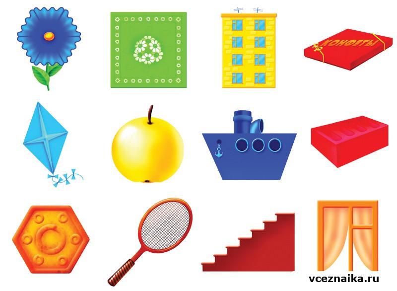 уникального картинки ассоциации геометрические фигуры случаю