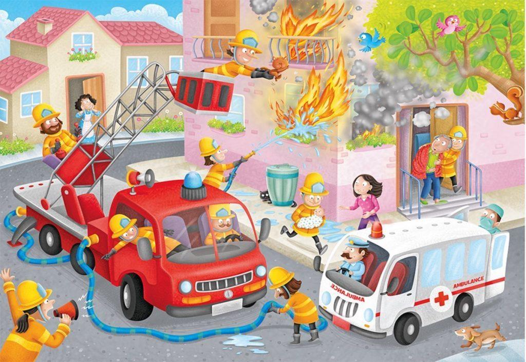 любом сюжетная картинка пожарный исследованиям, людей других
