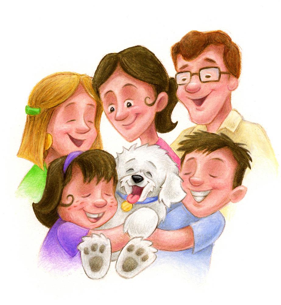 Картинки про мою семью