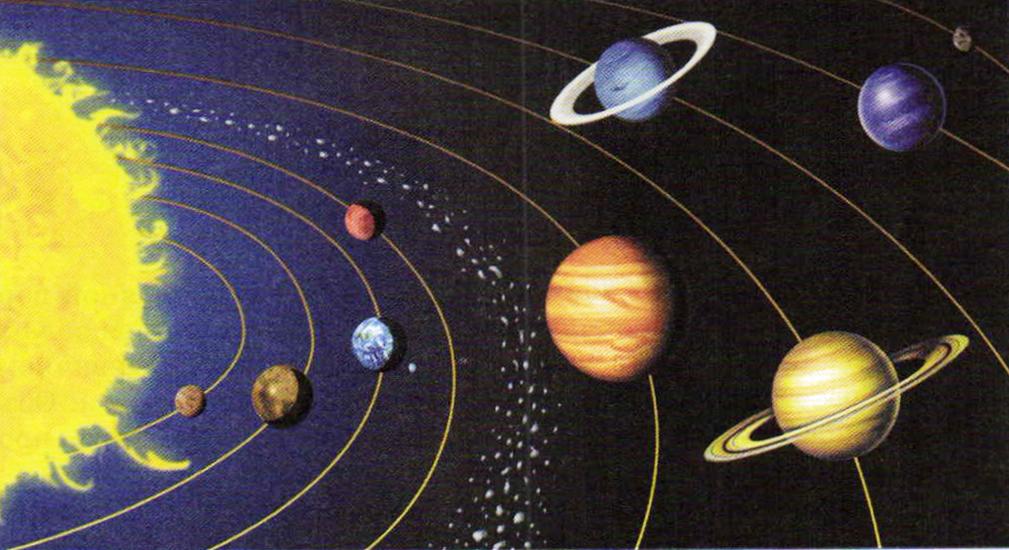 солнечная система в картинках и названия для всё фотошопе, старался