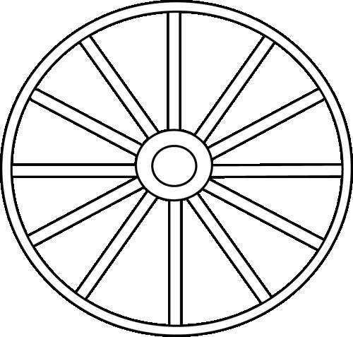 Картинки раскраска колеса