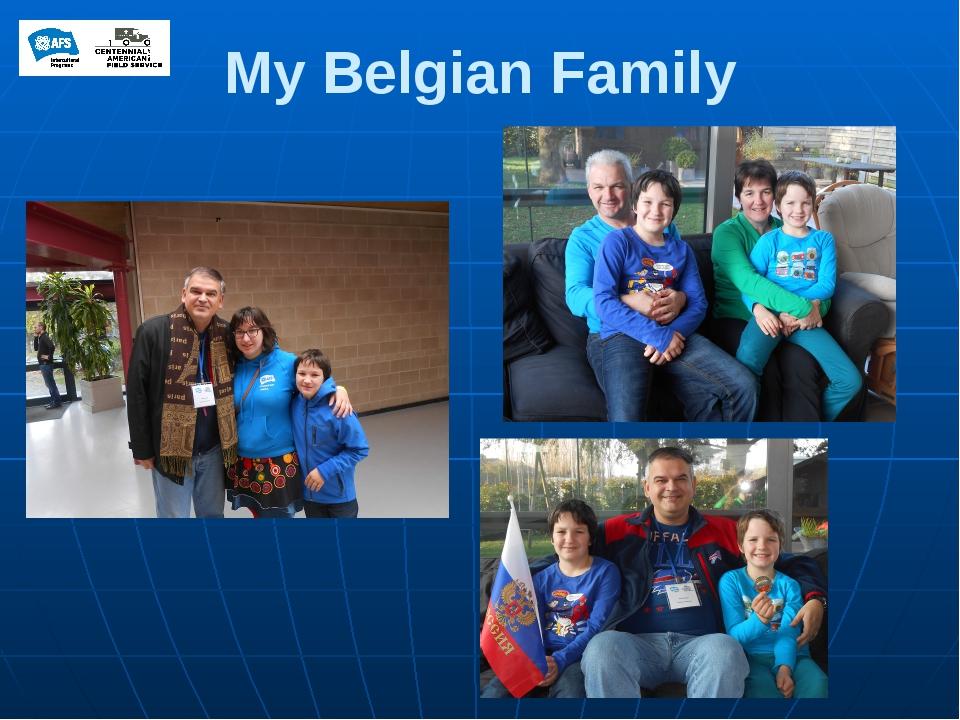 My Belgian Family