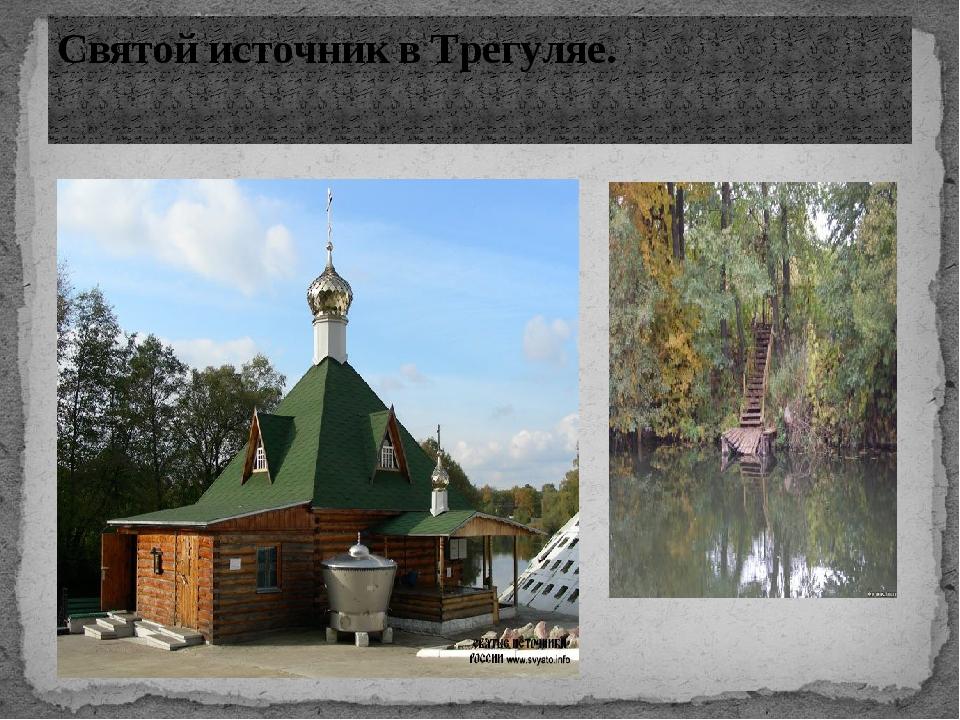 Святой источник в Трегуляе.