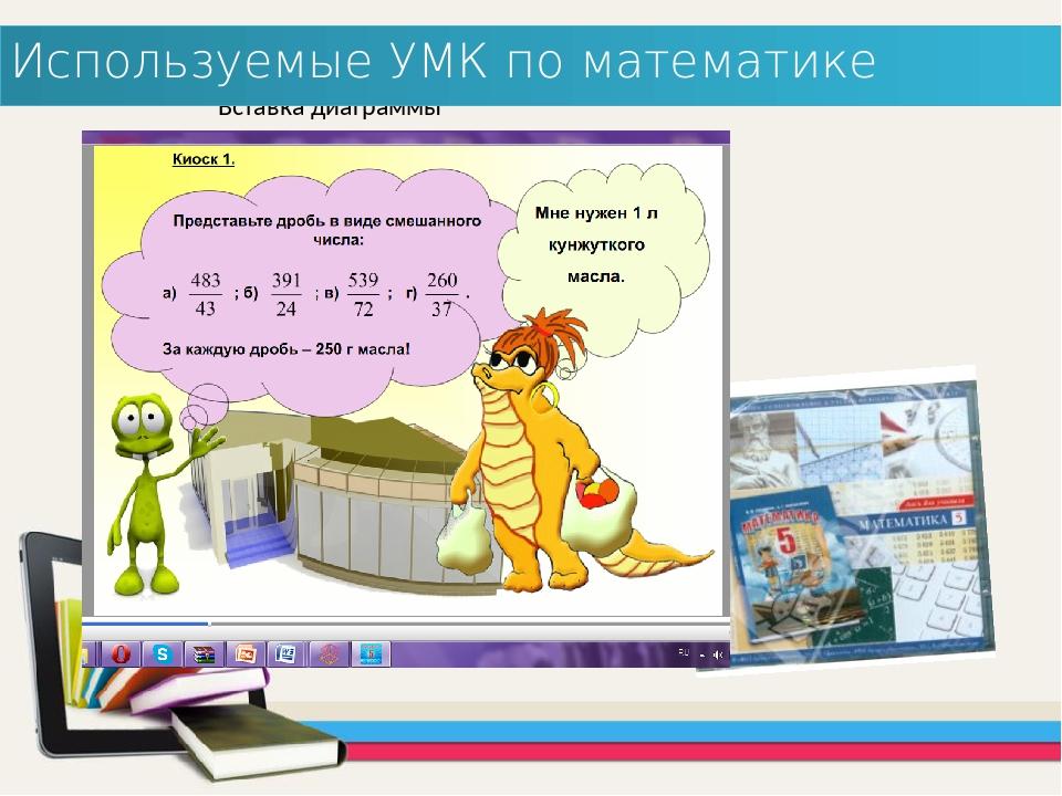Используемые УМК по математике