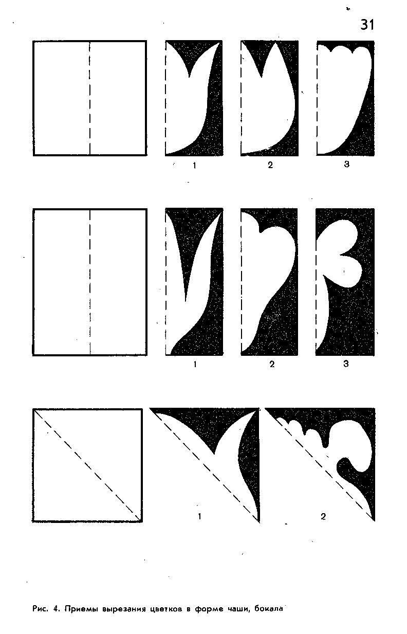 картинки симметричного вырезания простой