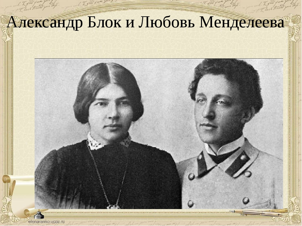 Александр Блок и Любовь Менделеева