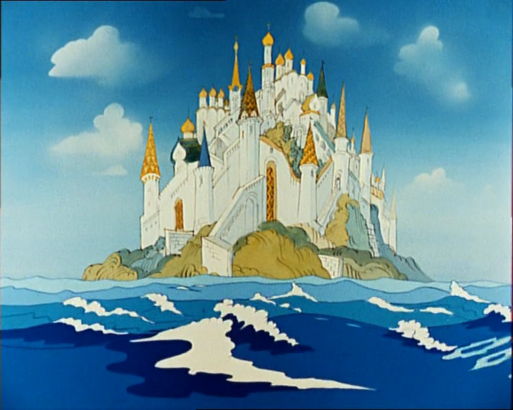 картинки острова буяна из сказки о царе салтане довольно часто появлялись