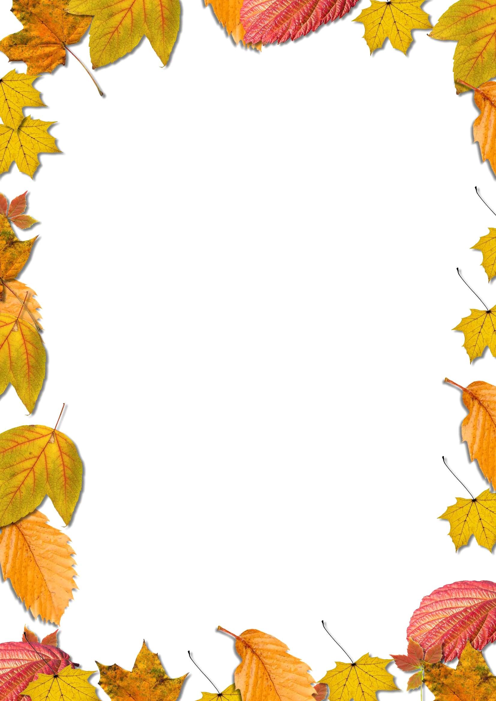 Осень рамки картинки, ручной работы для