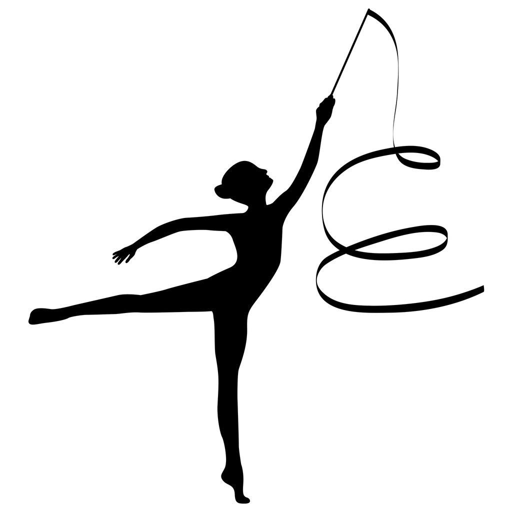 гимнастическая лента рисунок пудинг готовится