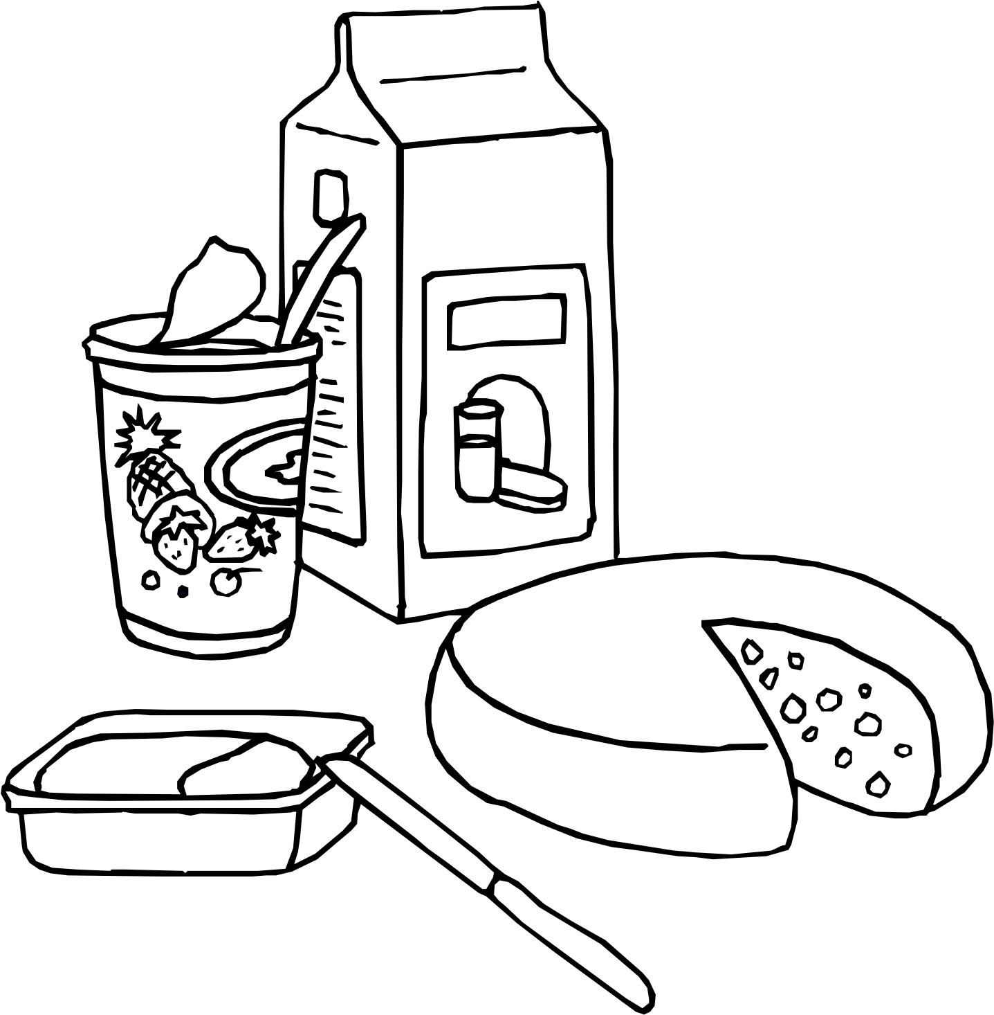 масштаб распечатать раскраски продукты питания распечатываю