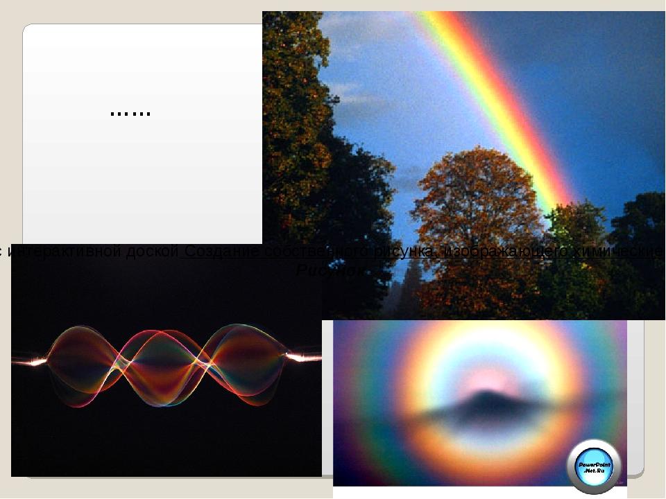 …… Работа с интерактивной доской Создание собственного рисунка, изображающег...