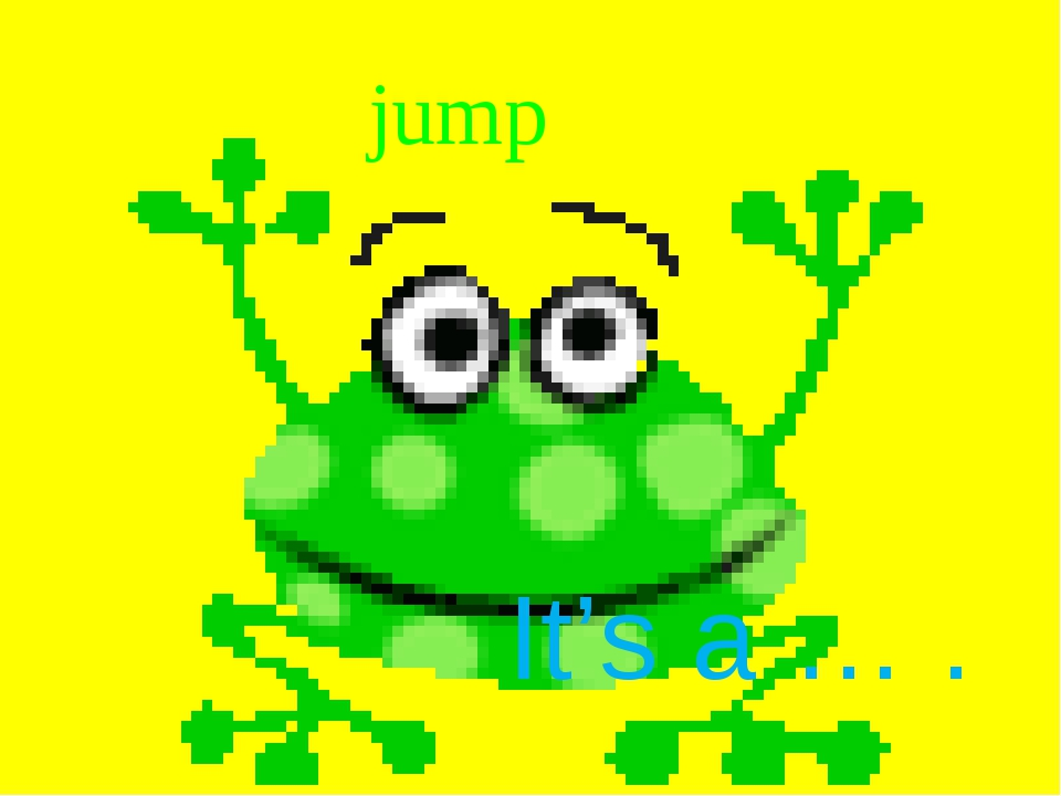 jump It's a … .