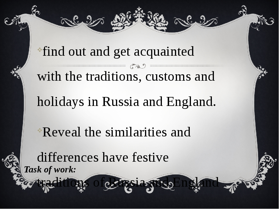 find out and get acquainted with the traditions, customs and holidays in Russ...