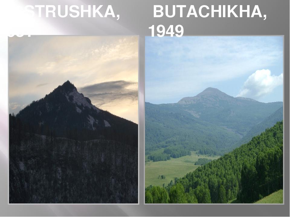 OSTRUSHKA, 951 BUTACHIKHA, 1949