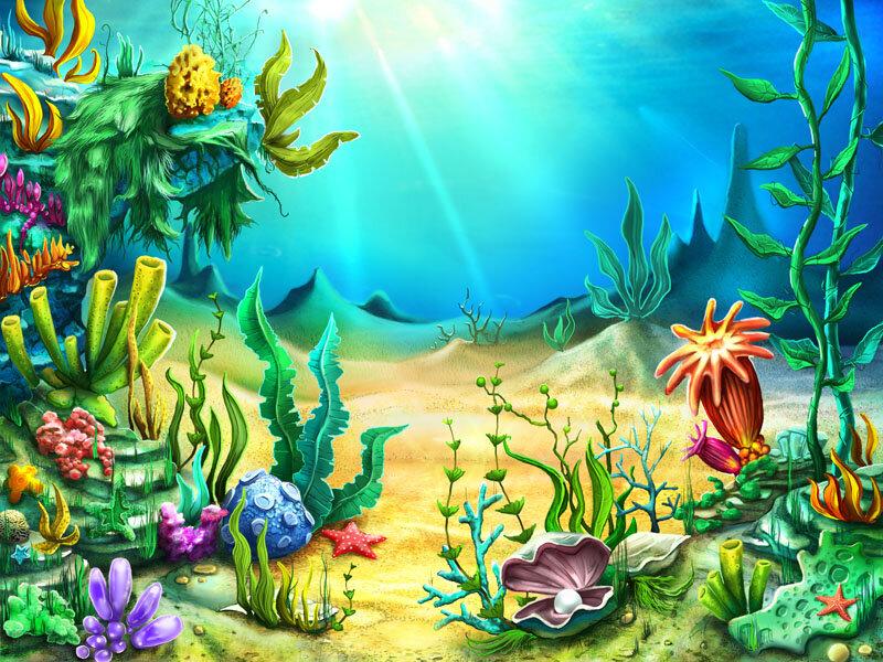 В подводном царстве картинки