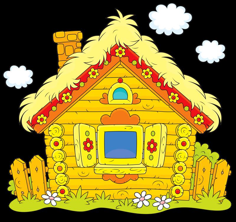 картинка домик лубяной основного потока покупателей
