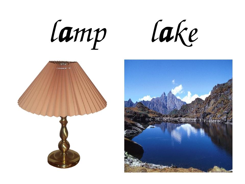 lamp lake