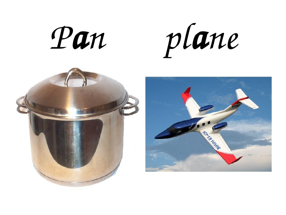 Pan plane