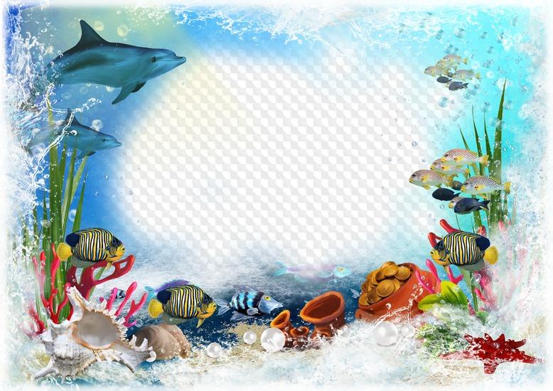 Картинки для детского сада морская тема