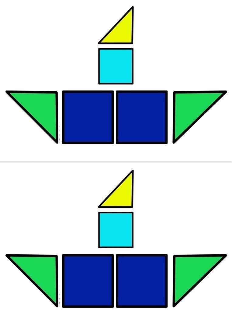 рассмотрите рисунок парохода из каких простых геометрических фигур он состоит глаза это