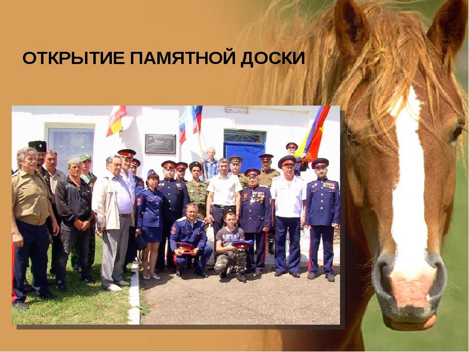 ОТКРЫТИЕ ПАМЯТНОЙ ДОСКИ www.PresentationPro.com