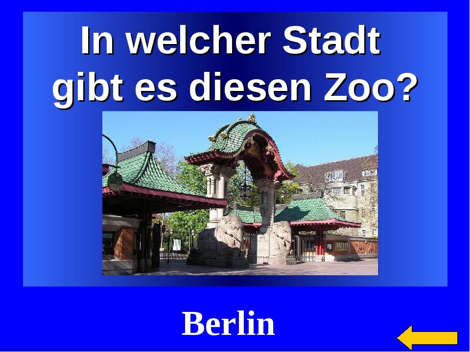 In welcher Stadt gibt es diesen Zoo? Berlin