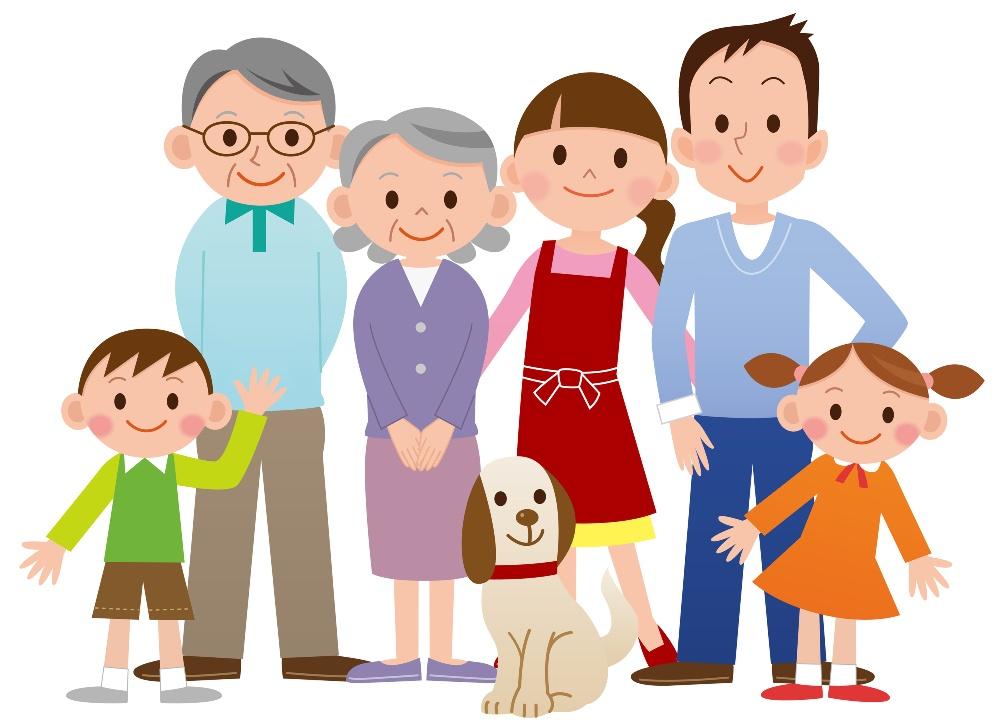 Мая своими, картинка родители и дети вместе на прозрачном фоне