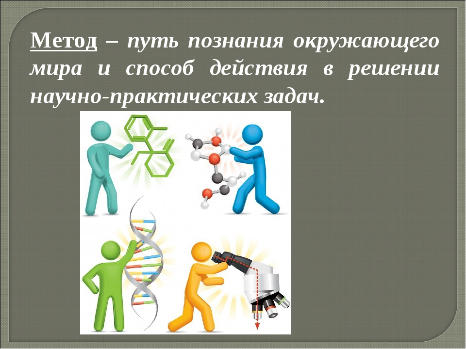 Метод – путь познания окружающего мира и способ действия в решении научно-пра...