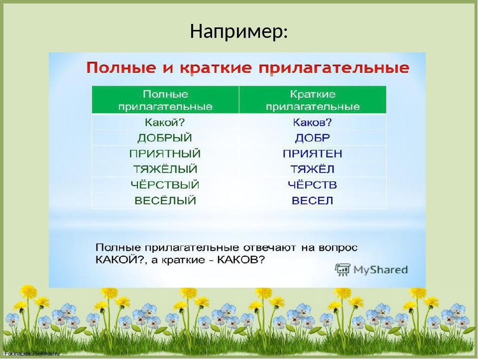 Например: FokinaLida.75@mail.ru